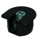 Рафикс для 16 мм: КОРПУС черный (Турция) (БЕЗ БОЛТА) - по 100 штук
