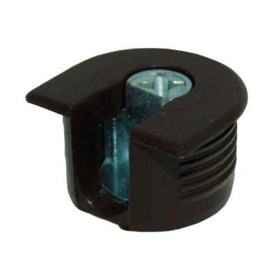 Рафикс для 16 мм: КОРПУС коричневый (Турция) (БЕЗ БОЛТА) - по 100 штук