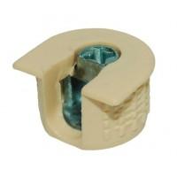Рафикс для 16 мм: КОРПУС крем (Турция) (БЕЗ БОЛТА) - по 100 штук