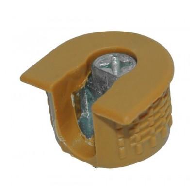 Рафикс для 16 мм: КОРПУС дуб светлый (Турция) (БЕЗ БОЛТА) - по 100 штук