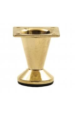 Опора 104-05 коническая h=5 см (с регулировкой) золото
