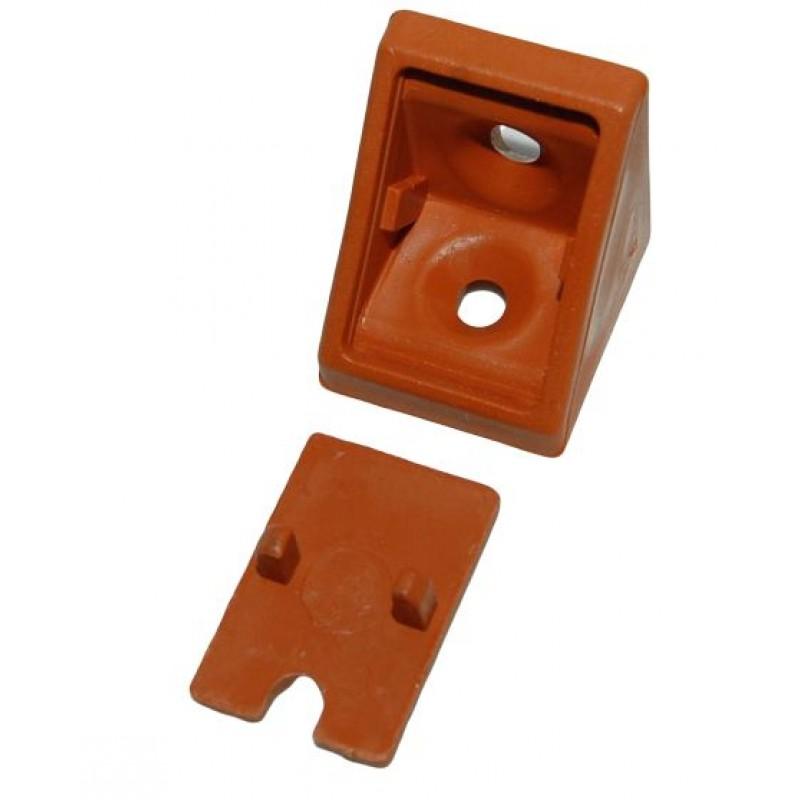Уголок одинарный armut (ольха/вишня) - упаковкой