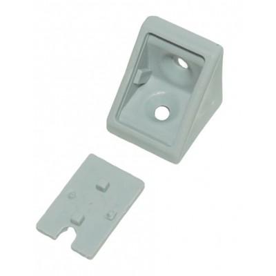 Уголок одинарный gri (серый) - упаковкой