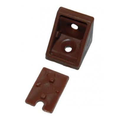 Уголок одинарный kahve (коричневый) - упаковкой