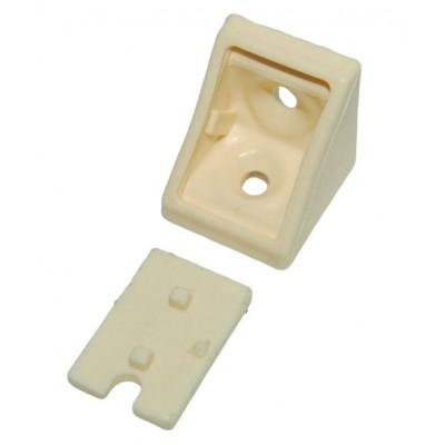 Уголок одинарный krem (бежевый) - упаковкой
