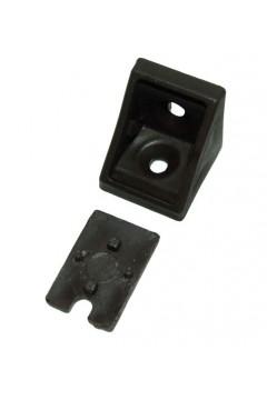 Уголок одинарный siyah (черный) - упаковкой