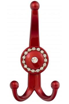 Мебельный крючок 13.146-039/039 красный глянец