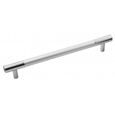 Ручка 14.102 - 160 мм матовий хром-хром