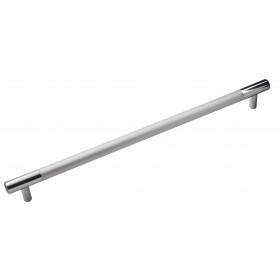 Ручка 14.105 - 256 мм матовий хром-хром