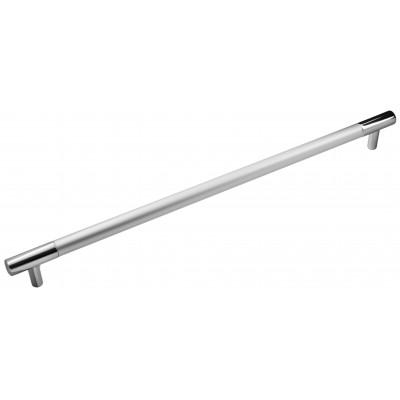 Ручка 14.106 - 288 мм матовий хром-хром