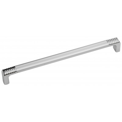 Мебельная ручка 14.132 - 192 мм алюминий-хром