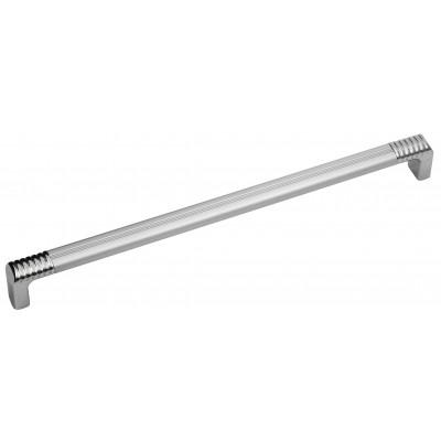 Мебельная ручка 14.133 - 224 мм алюминий-хром