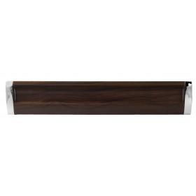 Ручка 14.202-06/026 - 224 мм хром-орех темный