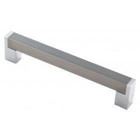 Мебельная ручка 14.228-06/22 - 128 мм хром-сталь