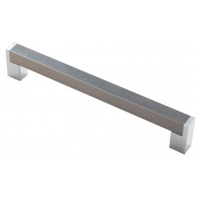 Мебельная ручка 14.229-06/22 - 160 мм хром-сталь