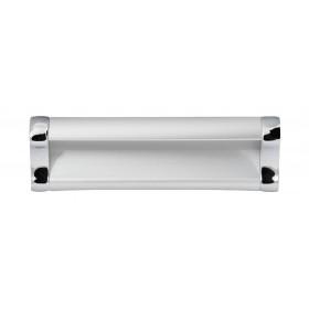 Ручка 14.297 - 96 мм матовый хром-хром