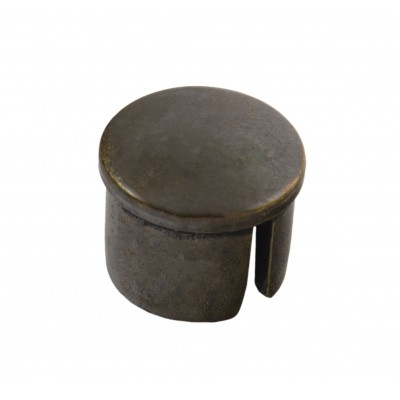 Заглушка для рейлинга d=16 мм пластик бронза (Турция)