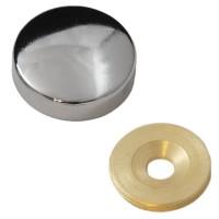 Заглушка на саморез 30 мм хром (по 50 шт)