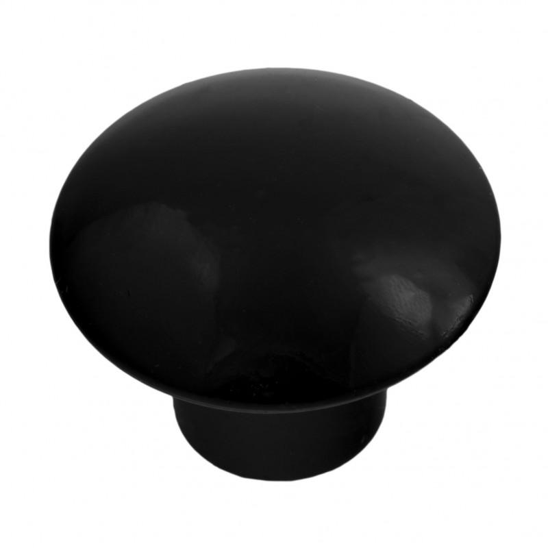 """Мебельная ручка """"керамика"""" 305 (по 100 штук) черный"""