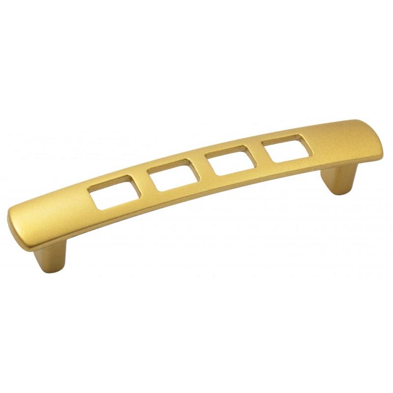 Мебельная ручка 5125-04 - 96 мм матовое золото