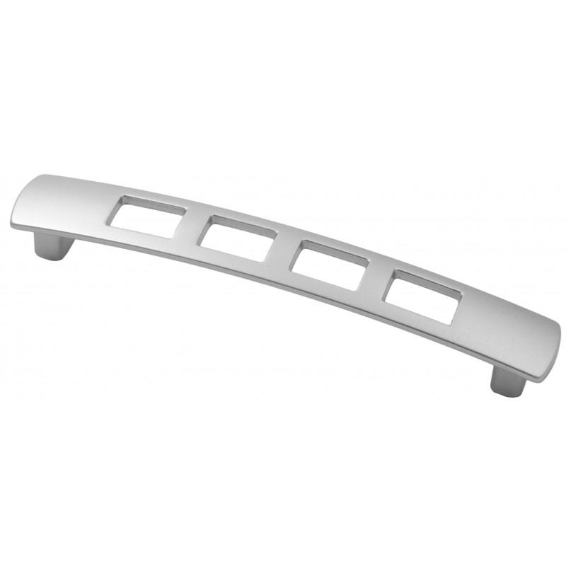 Мебельная ручка 5126-03 - 128 мм матовый хром