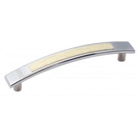 Мебельная ручка 5129-06/032 - 96 мм хром-клен