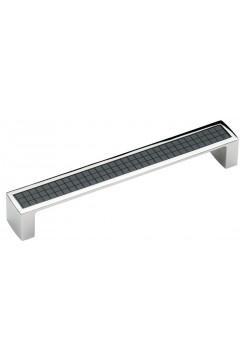 Ручка 5302-06/012 - 160 мм хром-черный