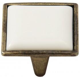 Ручка-керамика 5352-08/046 - 32 мм бронза