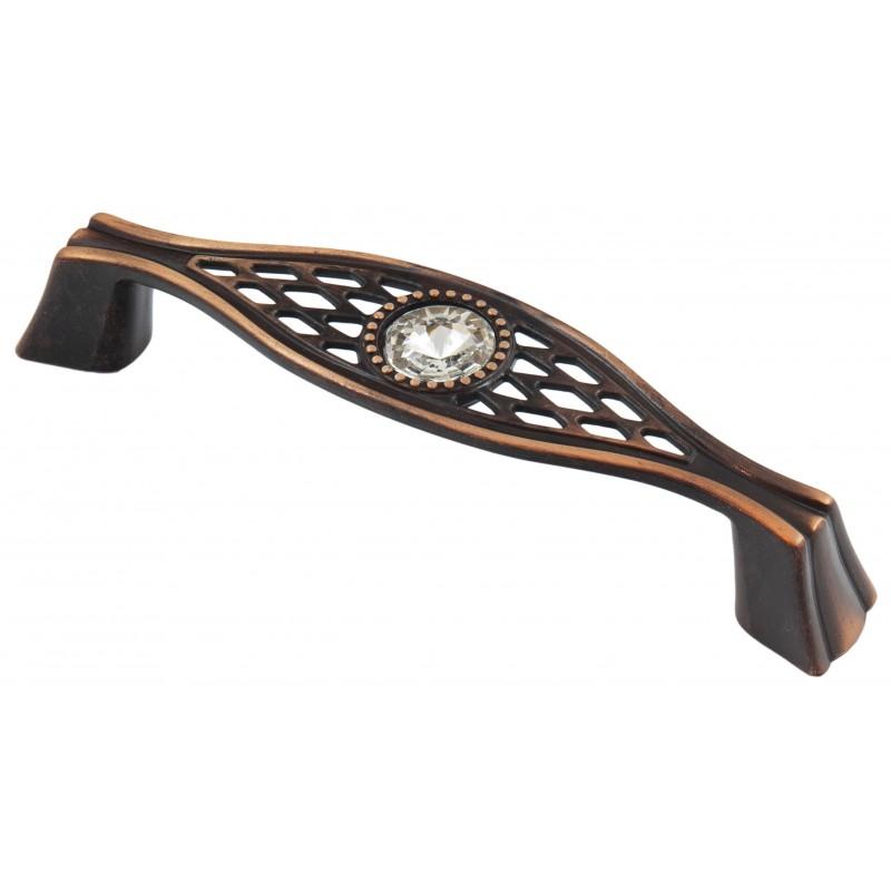 Мебельная ручка 5438-09 - 96 мм медь