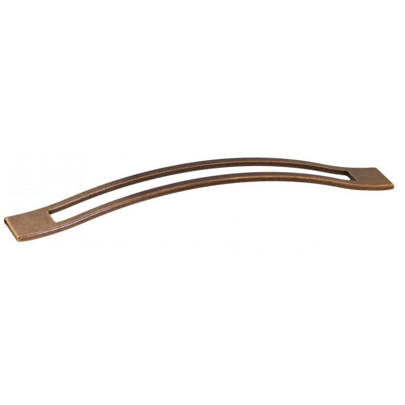 Мебельная ручка 5515-09 - 224 мм медь