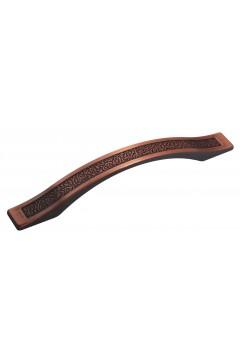 Мебельная ручка 5516-09 - 128 мм медь