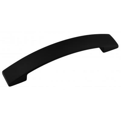 Мебельная ручка 5569-012 - 128 мм матовая черная