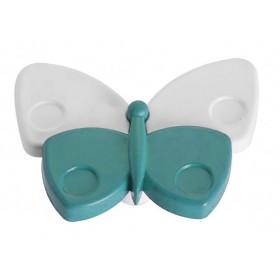 Ручка детская - бабочка голубая