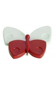 Ручка детская - бабочка красная
