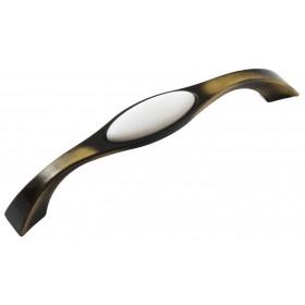 Мебельная ручка Reyhan 6008 - 128 мм бронза