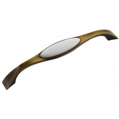 Мебельная ручка Reyhan 6008 - 160 мм бронза