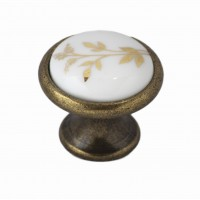Ручка-керамика 6072-08/40 бронза-колос