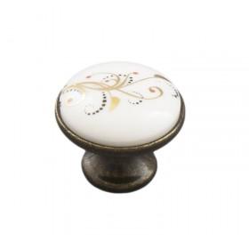 Ручка-керамика 6096-08/41 бронза-лоза (EKO)