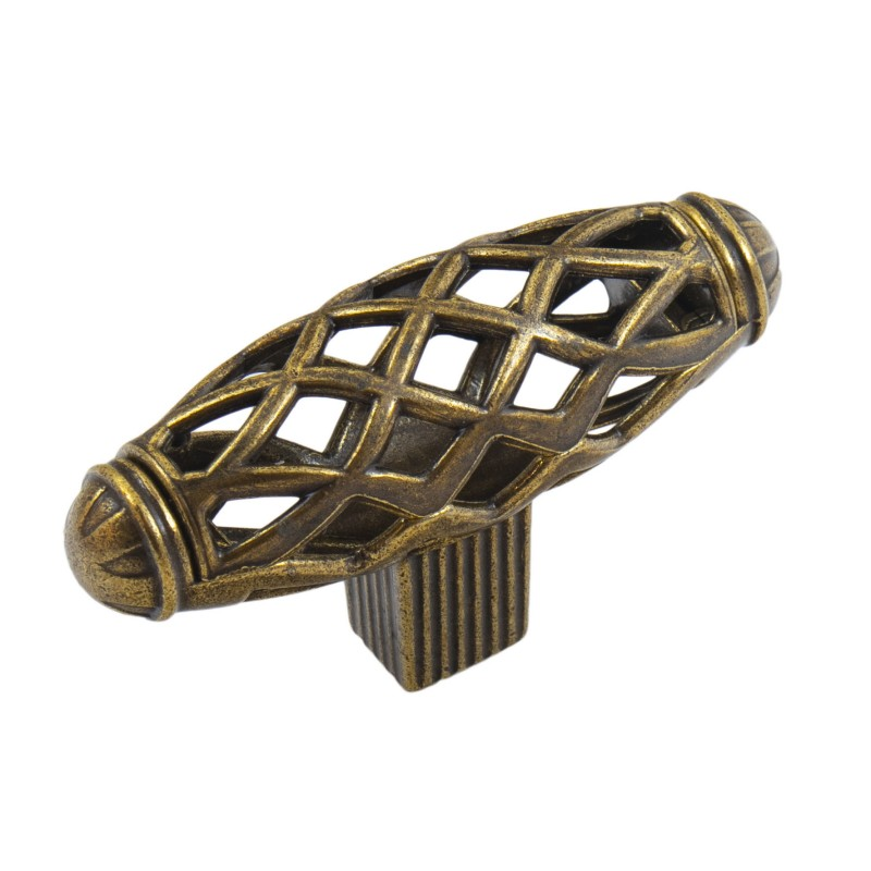 Мебельная ручка 6104-08 бронза