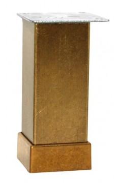 Опора регулируемая Kare Duz 4*4*10 см бронза