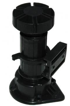 Опора кухонная усиленная AYTUG 10-15 см черная с клипсой (1 клипса на 2 ножки) Турция