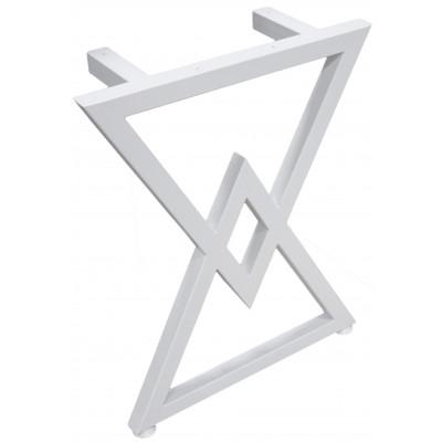 Набор опор для стола: треугольники (2 штуки) (Украина) белые - под заказ