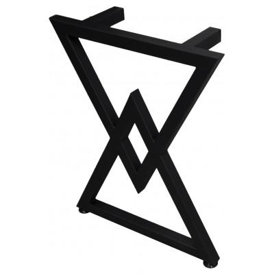 Набор опор для стола: треугольники (2 штуки) (Украина) черные - под заказ