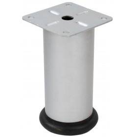 Опора 42*100 мм регулируемая Kapsan (Турция) матовый хром