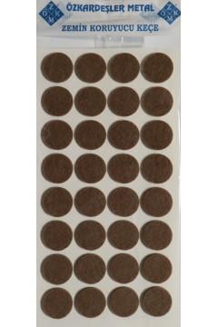 Фетровая самоклейка - круг D=24 mm