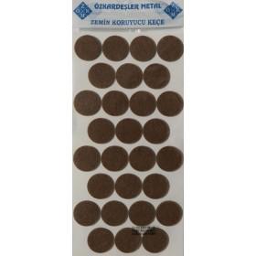 Фетровая самоклейка - круг D=28 mm