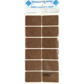 Фетровая самоклейка - прямоугольник 3,5*5,5 см