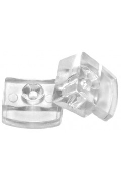 Стеклодержатель прижимной прозрачный (по 500 штук)