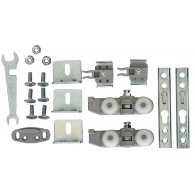 Ролики для раздвижной системы для межкомнатных дверей Lucido LC 65 (набор на 1 дверь, вес до 65 кг)