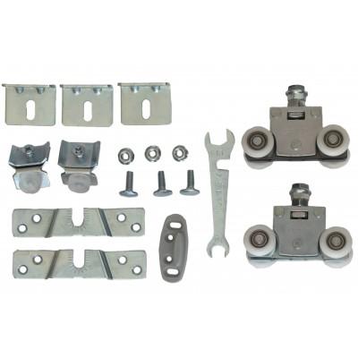 Ролики для раздвижной системы для межкомнатных дверей Lucido LC 99 (набор на 1 дверь, вес до 100 кг)